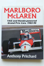 MARLBORO McLAREN - TAG AND HONDA POWERED GP CARS 1983-90 (Pritchard 1990)